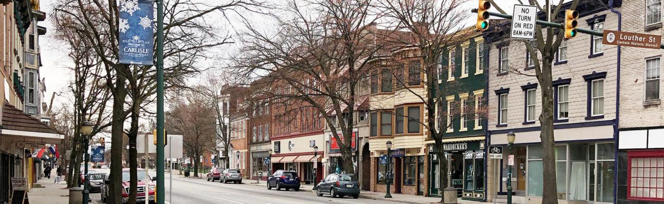 Carlisle, PA downtown